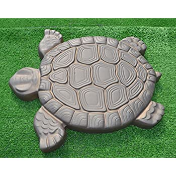 Genial Turtle Stepping Stone Mold Concrete Cement Mould ABS Tortoise Garden Path  #S02