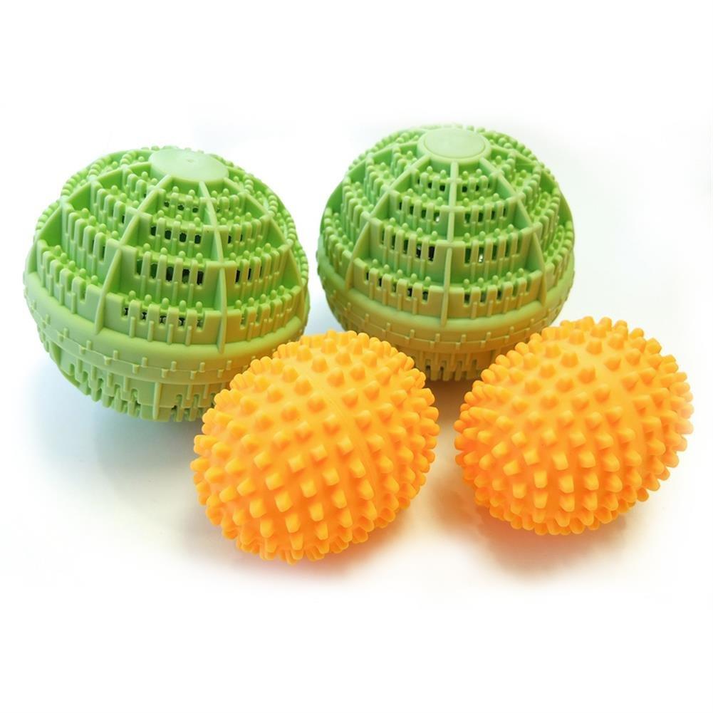 HC Handel 936195lavaggio e palline per asciugatrice Set–biancheria pulita e morbida tutto senza prodotti chimici HC-Handel