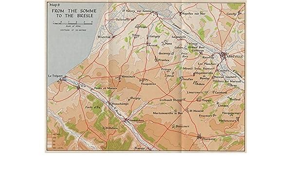 Amazon Com Somme 1940 Abbeville Eu Le Treport Gamaches Oisemont
