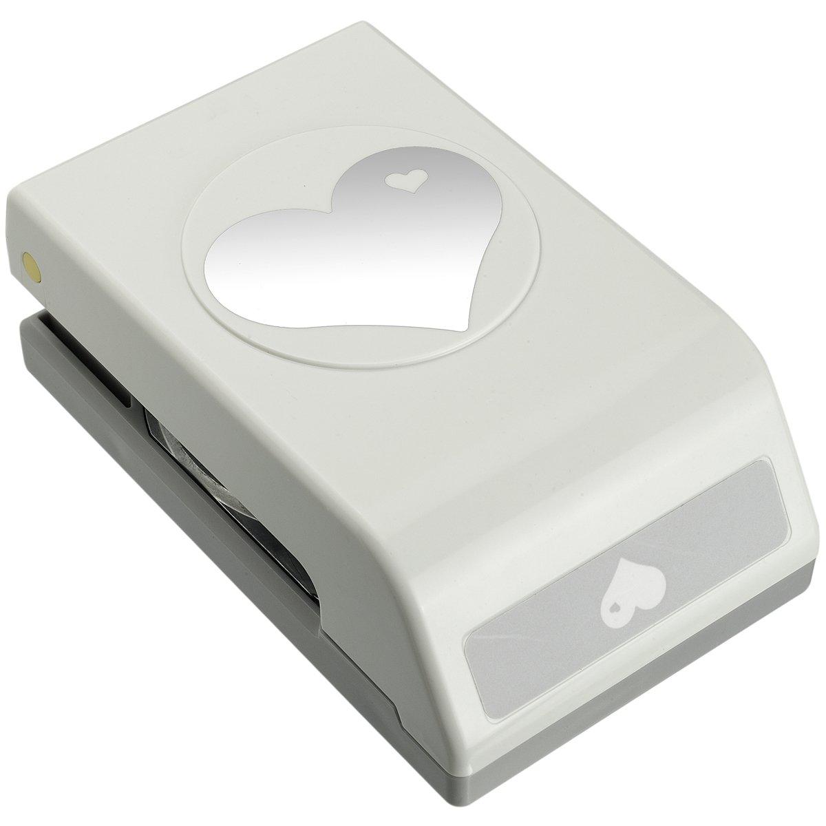 EK Tools Perforador de papel, grande, corazón en corazón