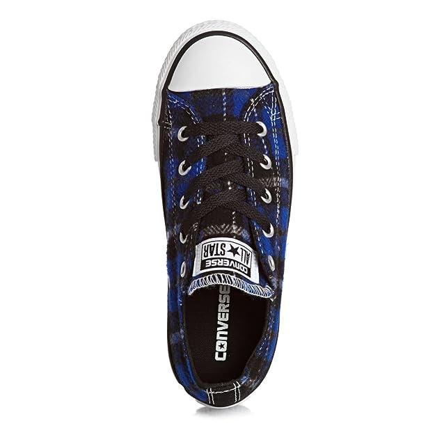 155ece349891 Converse CT AS Plaid Ox Kids Shoe - Blue 649984C  Amazon.co.uk  Shoes   Bags