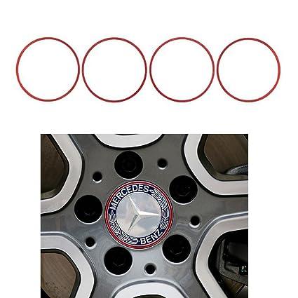 Amazon Com Duoles 4 Pieces Alloy Car Wheel Rim Center Cap Hub Rings