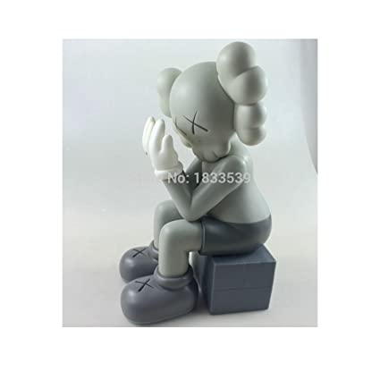 huge selection of 397d0 44cd4 Amazon.com: Kaws BFF Dissected 16 inch Black Red Grey ...