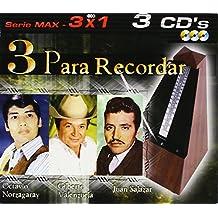 3 Para Recordar: Serie Max 3 X 1