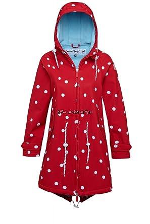 Softshellmantel Gurri Überall Derber DotsPunkte Fjell GepunktetSchöne RotWeiss Amundsens v8w0mNn