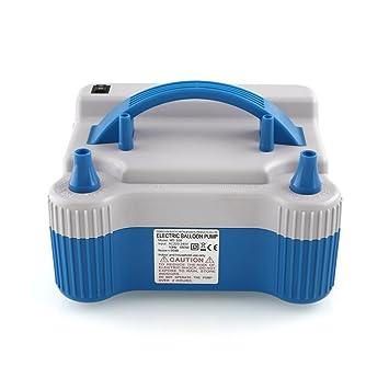 Mvpower Inflador de globo Electrórica Bomba Electrónica de globo aire 3 modos 680W Color Azul: Amazon.es: Bricolaje y herramientas