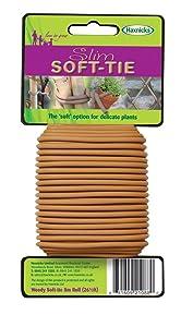 Tierra Garden 50-3030 Haxnicks Slim Soft Tie, 26.3', Woody