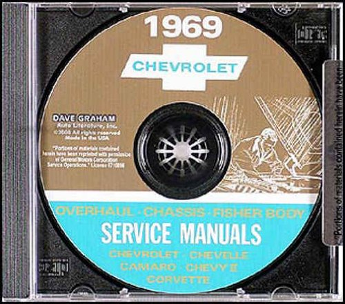 - 1969 CHEVROLET FACTORY REPAIR SHOP & SERVICE MANUAL INCLUDES: Corvette, Biscayne, Bel Air, Impala, Caprice, Chevelle, 300, Deluxe, El Camino, Malibu, Nova, Camaro, RS, SS, and Z-28. CHEVY 69