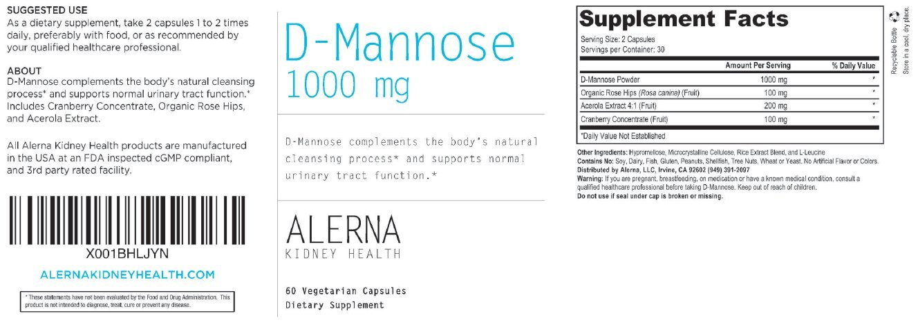 Amazon.com: D-Mannose (1000mg) (w/Organic Rose Hips and Cranberry ...