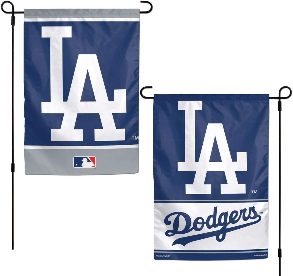 MLB Los Angeles Dodgers 12x18 Garden Style 2 Sided Flag, One Size, Team Color