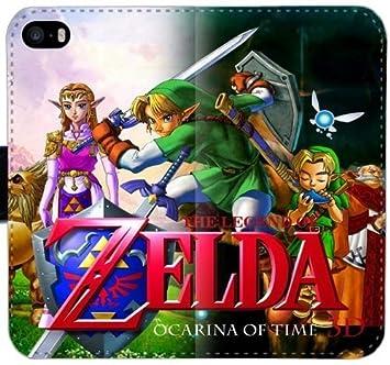 La leyenda de Zelda Caracteres Caras carpeta de cuero de la ...