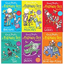 Enid Blyton Books The Magic Faraway Tree Collection 6 Books Colour Set