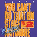 You Can'T Do That On Stage Anymore Vol. 2 by Frank Zappa (1995-05-15)