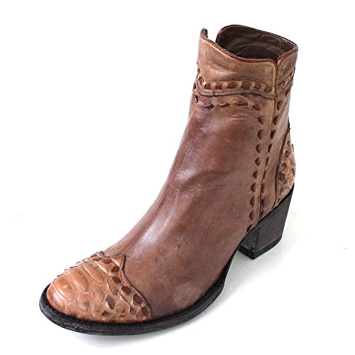 in vendita 9e164 32225 Mexicana, Stivali Donna Marrone Camel/Python/Bayo Cowhide ...