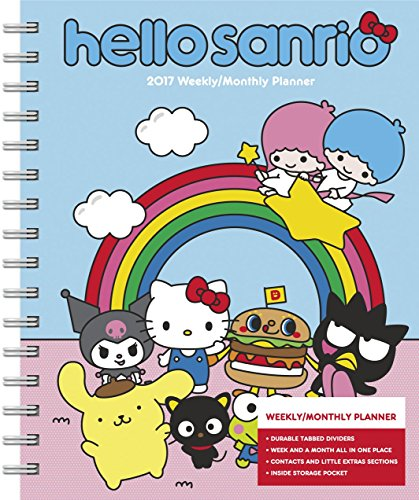 Hello Kitty Weekly and Monthly Planner (2017) (Desk Executive Calendar Line)