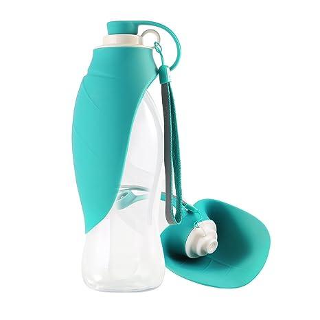Petyoung Botella de Agua portátil para Mascotas, Ideal para Viajes, dispensador de Agua de