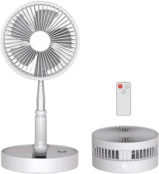 WWWNNUUUX Telescópica Plegable Mini Ventilador, con Ventilador ...