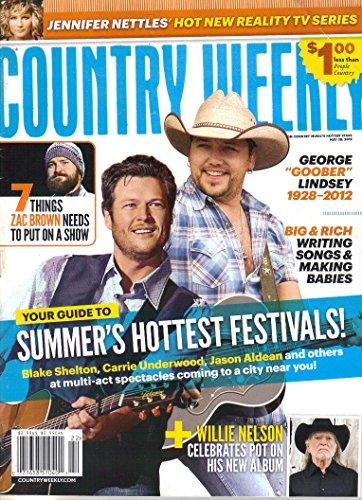 Country Weekly Magazine - Country Weekly Magazine (May 28, 2012)