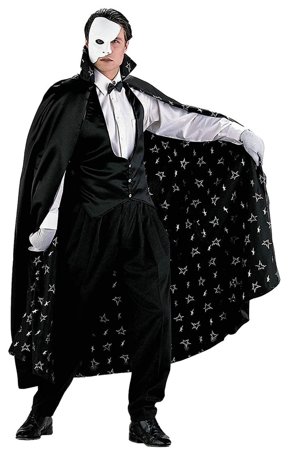 Mysterious Phantom Costume Cape, Vest