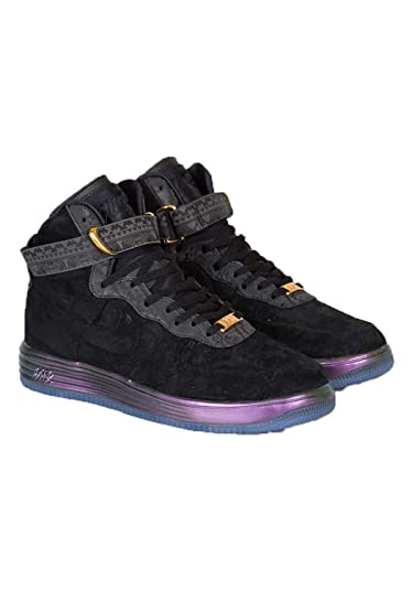 more photos 085c9 ad043 Amazon.com   Men s Nike Lunar Force 1 LUX BHM QS 650719 001 size 10.5    Fashion Sneakers
