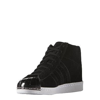 adidas Superstar Up Metal Toe Shoes Black 9.5: Amazon