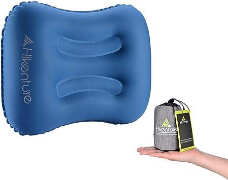 Amazon.com: HIKENTURE Almohada inflable para acampada ...