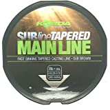 Mainline Coarse Carp Match Fishing Line All Sizes Korda SUBline Tapered Leader