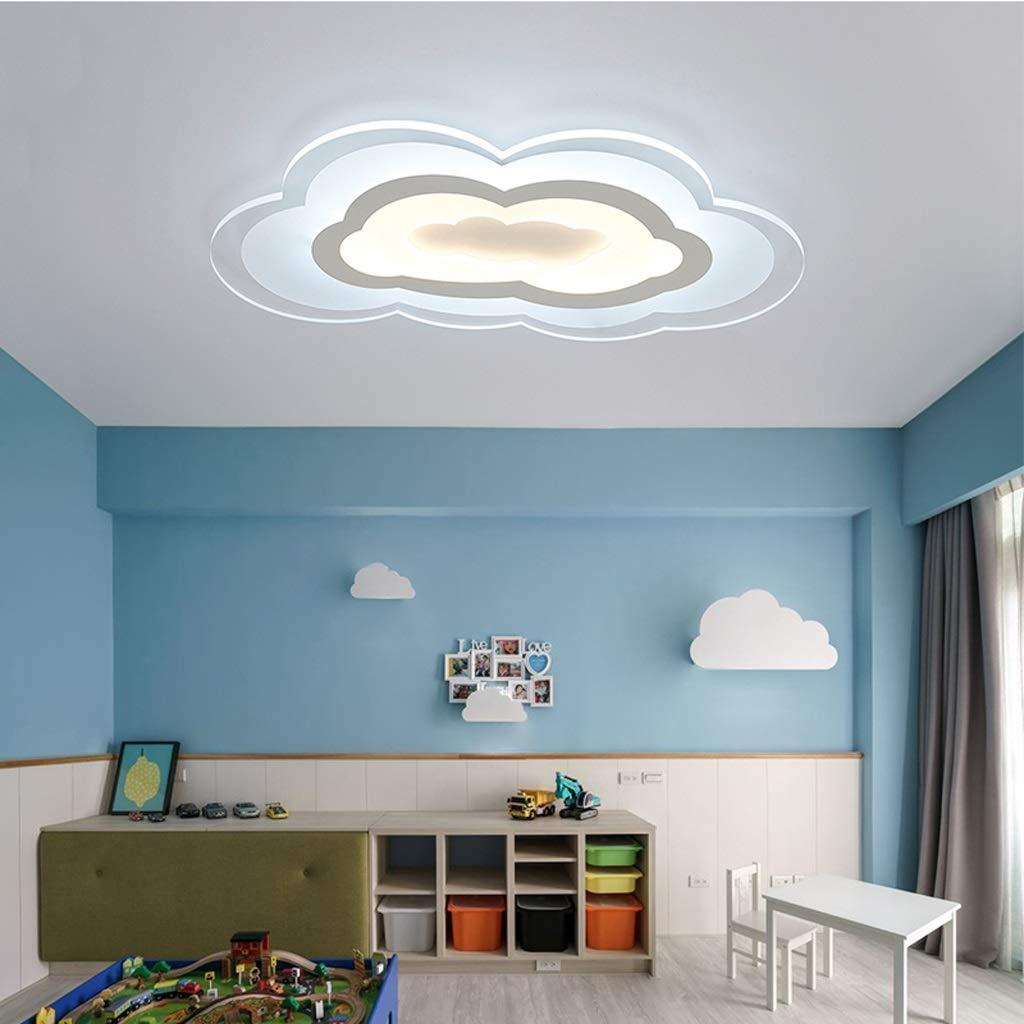 RXY-シーリングライト 子供部屋雲天井ランプ、シンプルな男の子女の子寝室研究室部屋漫画LEDライト (サイズ : 60x36cm) B07Q45YMFM  60x36cm
