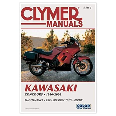 Clymer Repair Manual for Kawasaki Concours 86-04 on
