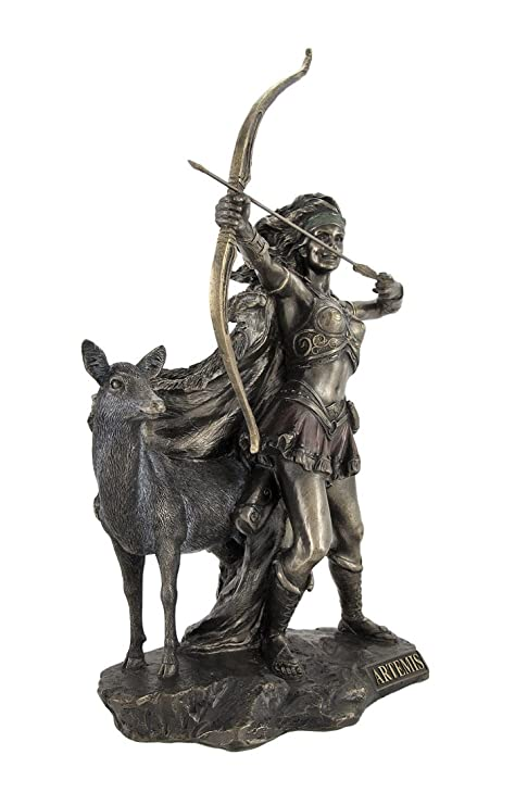 Amazon Things2die4 Bronzed Artemis Goddess Of Hunting And