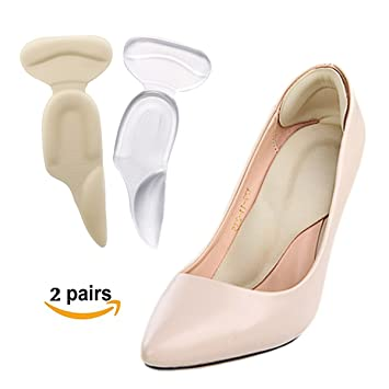 ecaa606fd2 Image Unavailable. Image not available for. Color: Maxdee Heel Cushions Insoles  and Arch ...