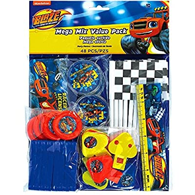 Blaze and the Monster Machines Mega Mix Value Pack, Party Favor: Toys & Games