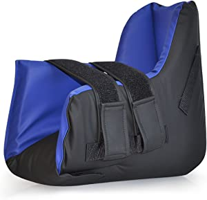 NYOrtho Boot Heel ProtectorCushion -Pressure Relieving Pillow Boot with Suspension Boot Antimicrobial Wipe Clean Fabric Zero-G Boot™  Free Removable Heating/Cooling Gel Pack Included Bariatric