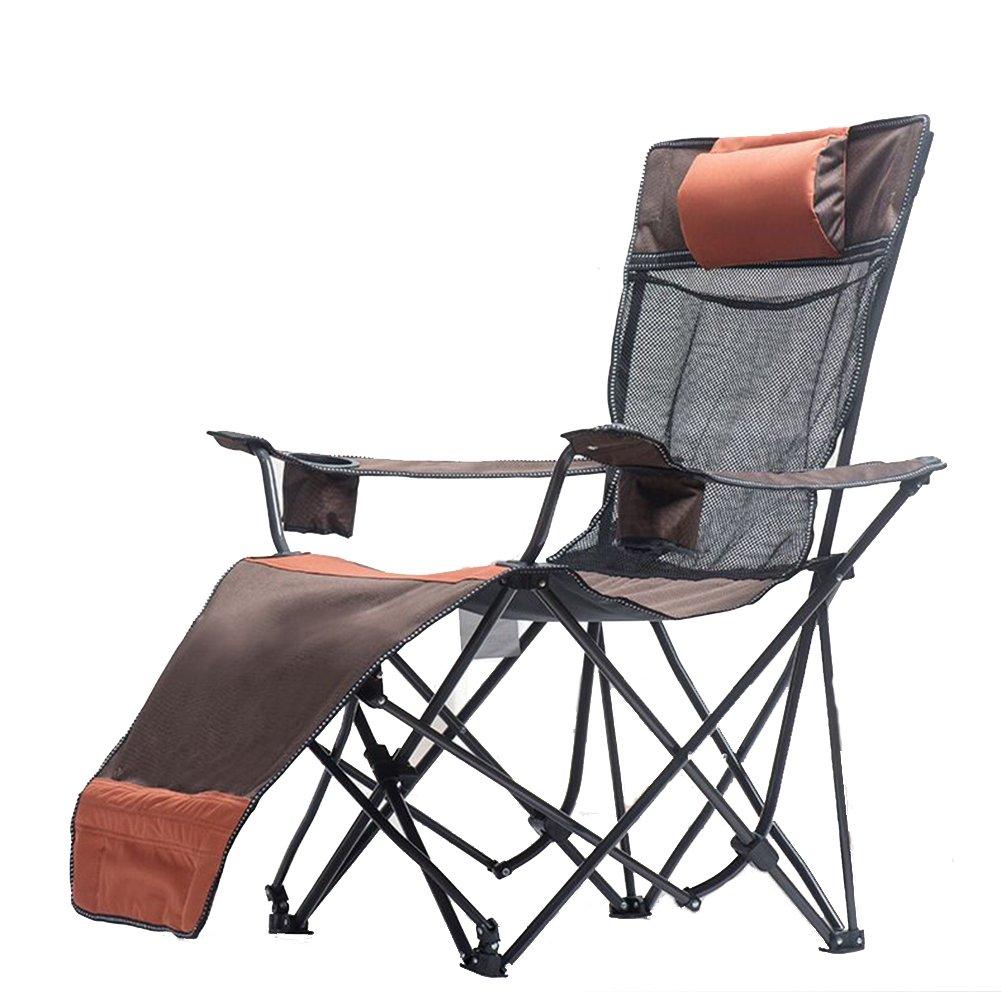 HM&DX Neuer Stil Im Freien Klappstuhl Couch Stuhl Strand Stuhl Angeln Stuhl Nap Siesta Bett Stühle