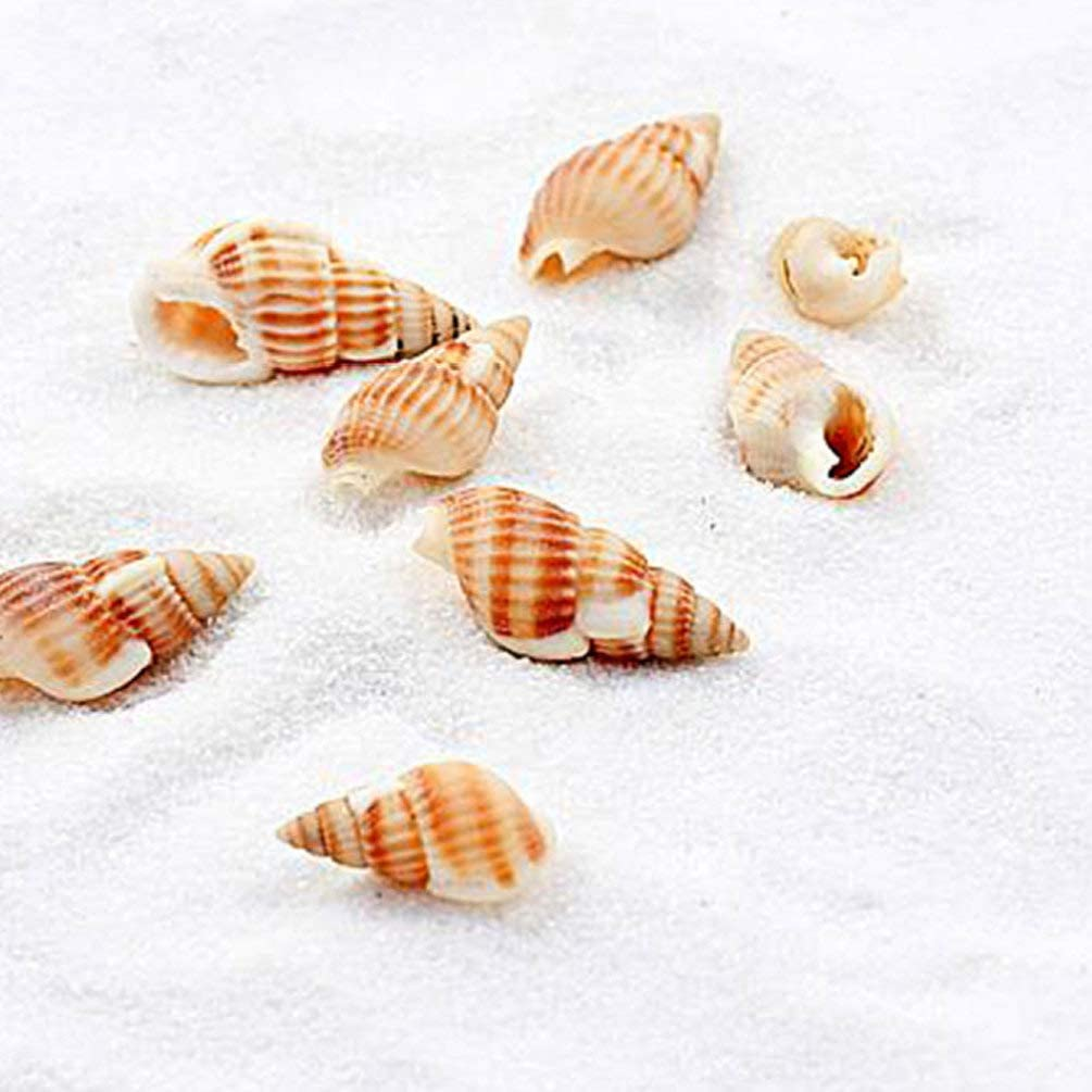 80g Exceart 5 Packs Aquarium Sands White Gravel Pebbles Sand Creative Fish Tank Sand Aquarium Garden Home Decoration