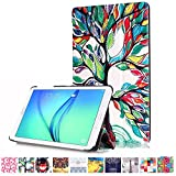 Galaxy Tab E 8.0 case-UUcovers(TM) Ultra Slim High-Quality Fashion Pattern Case Cover for Samsung Tab E 8.0-Inch SM-T377 Tablet (Luckly Tree)