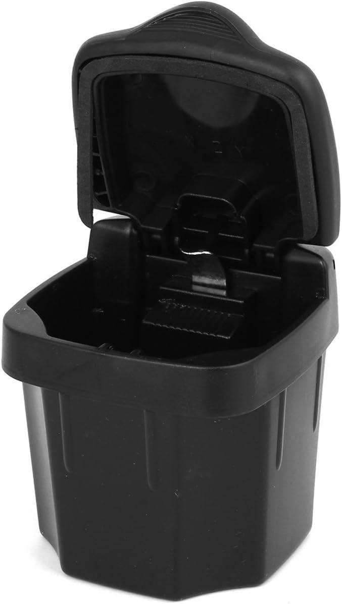 Sourcingmap Schwarz Kunststoff Zigarettenhalter Aschenbecher 8 X 7 Cm Für Auto De Auto