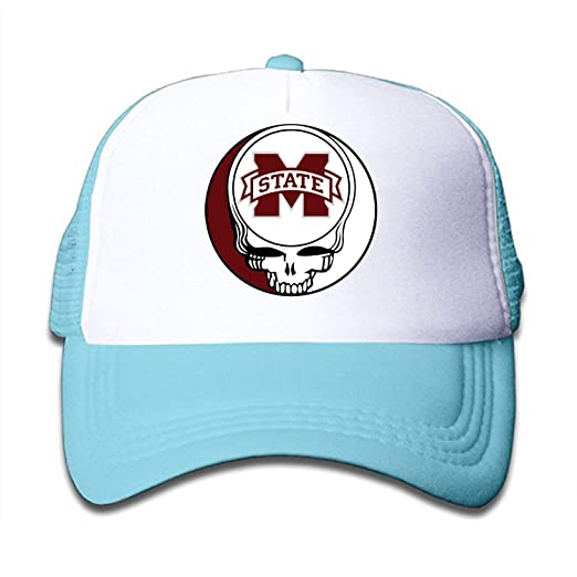 Grateful Dead Hat Steal Your Face SnapBack Trucker Mesh Cap Made in the USA!