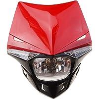 GOOFIT Faro Delantero Moto, H4 LED Universal 12V