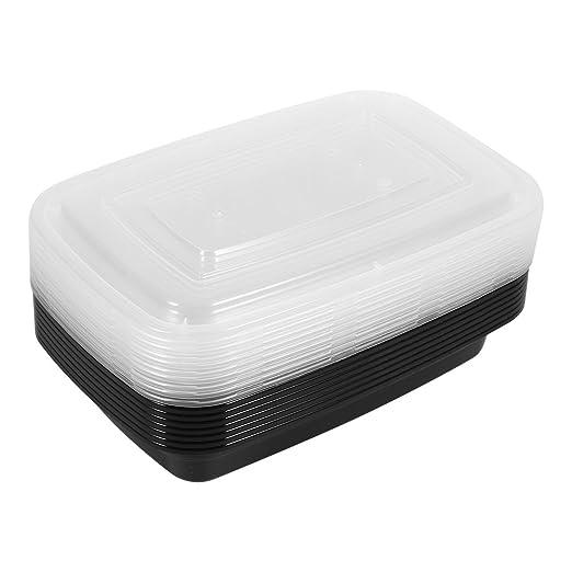 1 compartimento comida Prep Contenedor Bento Box Tupperware ...