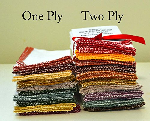 Cheap  Paperless Towels, 2-Ply, Heavy Duty Made from White Cotton Birdseye Fabric -..