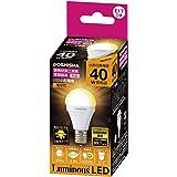 ルミナス LED電球 小型 口金直径17mm 40W 相当 電球色 広配光タイプ 密閉器具・断熱施工器具対応 CM-A40GML
