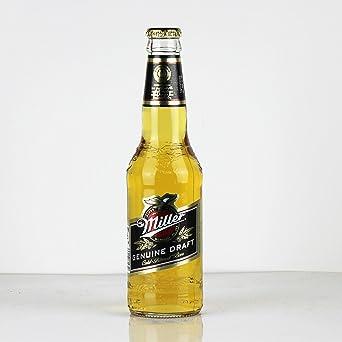 Miller Genuine Draft 6 x 330 ml (botellas de vidrio)