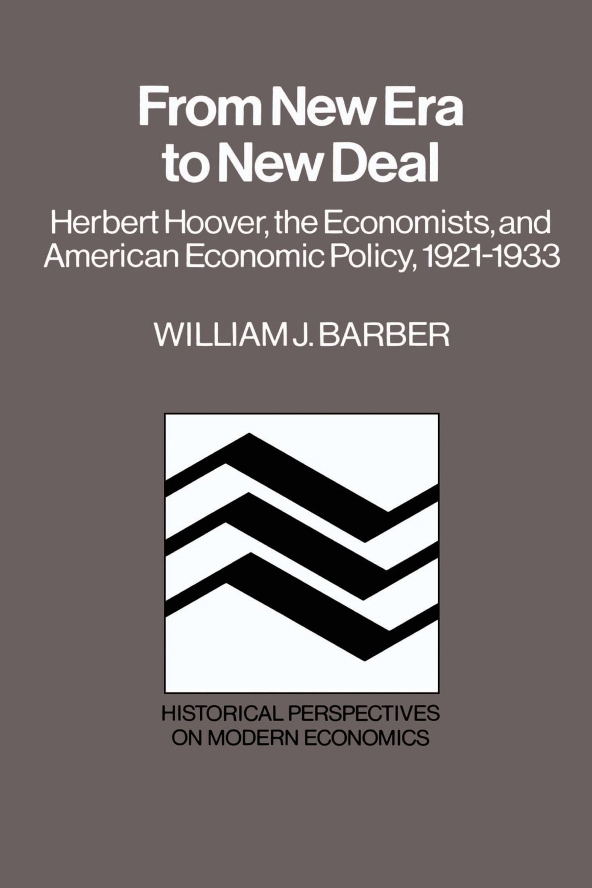 Download From New Era to New Deal: Herbert Hoover, the Economists, and American Economic Policy, 1921-1933 (Historical Perspectives on Modern Economics) pdf