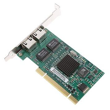 Longsw 32bit PCI Dual Port Gigabit Ethernet Tarjeta De Red ...