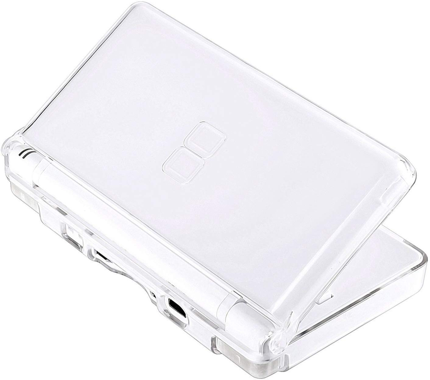 Kailisen Transparent Hard Case Cover Compatible with Nintendo DS Lite NDSL, Replacement Protective NDS Lite Crystal Clear Ice Case