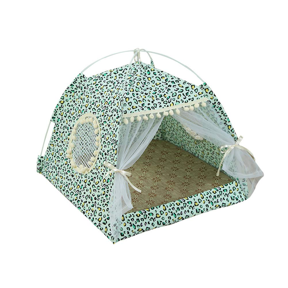 E Medium E Medium Pet Bed Cat Bed Cats and Small Medium Dogs Cuddler with Soft Cushion Pet Tent Dog Cat Sleeping Nest Teepee Decoration,E,M
