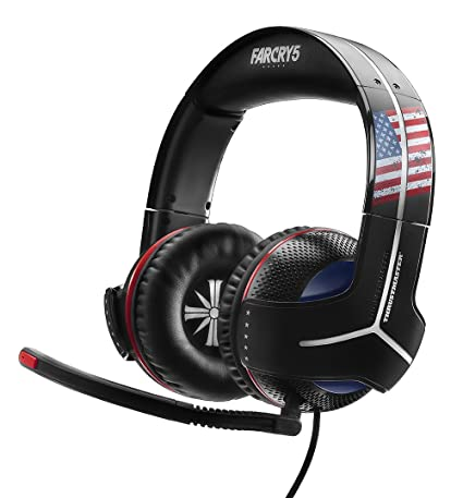 Thrustmaster - Auriculares Y-300CPX Far Cry 5 Edition (PS4, PS3, Xbox One, Xbox360, PC, VR, Nintendo Switch)