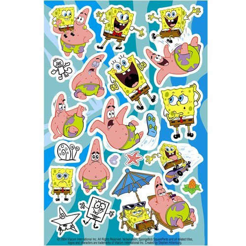 Spongebob Sticker Squarepants - Spongebob Squarepants Sticker Sheets