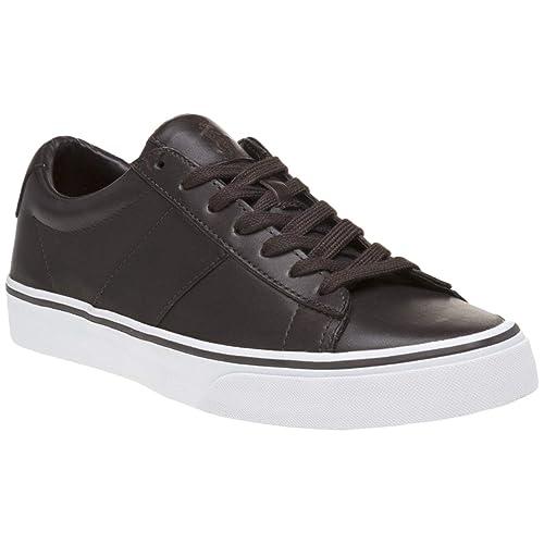 Ralph Lauren Hombre Sayer Cuero Zapatos: Amazon.es: Zapatos y complementos